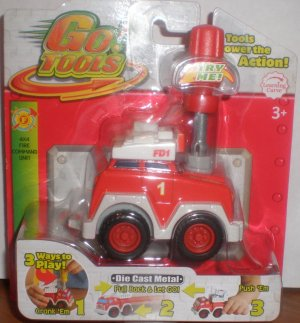 Red 4x4 Fire Command Unit
