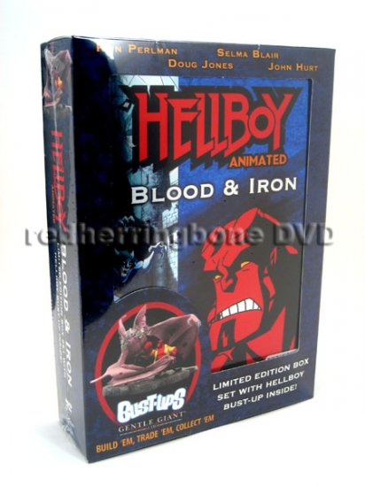 Hellboy Blood & Iron DVD with Bust-Ups (Circuit City Exclusive) NEW