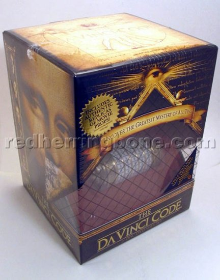 The Da Vinci Code 2-Disc Special Edition DVD Giftset RARE w/ Cryptex & Journal (DaVinci) NEW