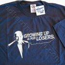 """The Winner"" FOX TV Show Promo T-Shirt (Dark Blue, Size LARGE) NEW"