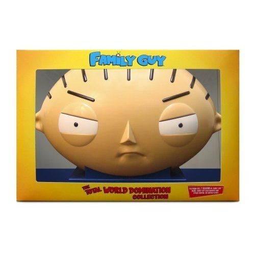 Family Guy: The Total World Domination DVD Collection (Stewie Head Packaging) RARE NEW