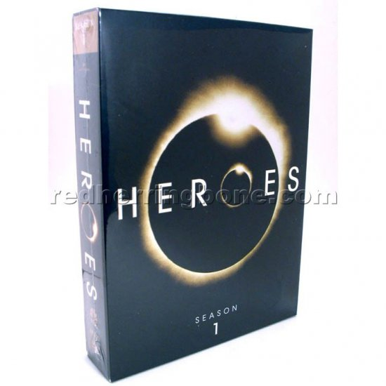 Heroes Season One (1 First 1st) Complete 7-Disc DVD (Hayden Panettiere, Milo Ventimiglia) NEW
