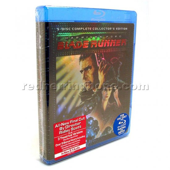 Blade Runner 5-Disc Complete Collector's Edition Blu-ray Disc Set (Harrison Ford) NEW