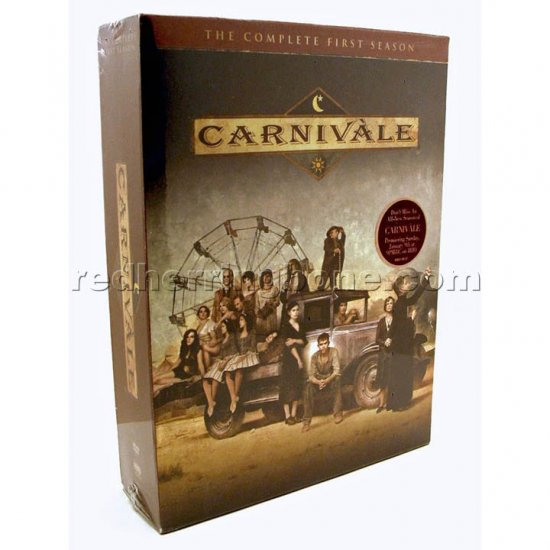 Carnivale Complete First Season (1 One 1st) 6-Disc DVD HBO NEW
