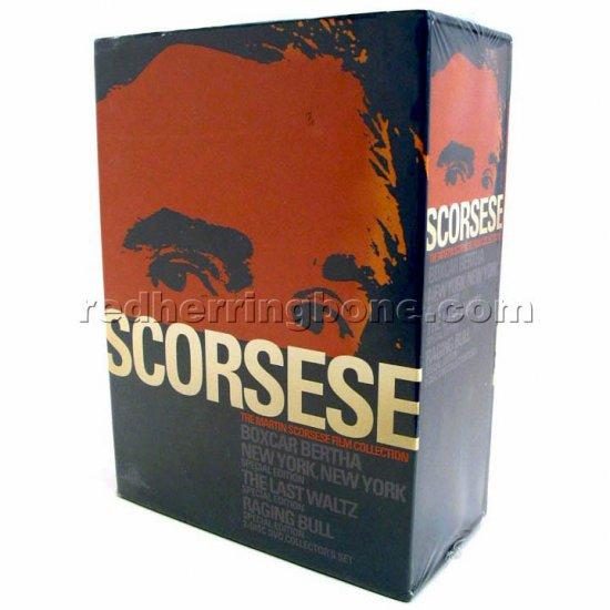 Martin Scorsese Film Collection DVD (New York New York, Raging Bull, The Last Waltz, Boxcar Bertha)