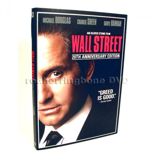 Wall Street 20th Anniversary DVD with Business Card Holder (Best Buy Exclusive) NEW