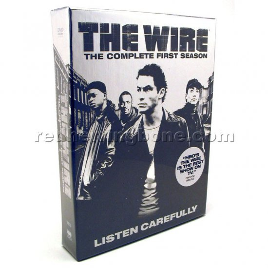 The Wire Complete First Season DVD (1st One 1) HBO NEW