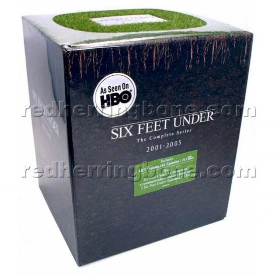 Six Feet Under: The Complete Series DVD Gift Set RARE - All 5 Seasons + Book, Soundtracks HBO NEW