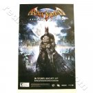 Batman: Arkham Asylum Promo Poster for video game NEW