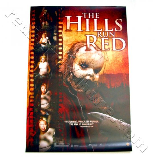 """The Hills Run Red (2009) Promo Movie Poster horror film 13-1/2""""x20"""" NEW"""