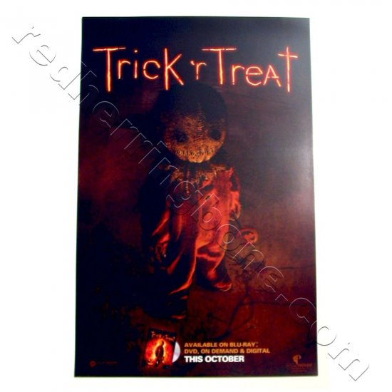 "Trick 'r Treat (2008) Promo Movie Poster for DVD release 11""x17"" NEW"