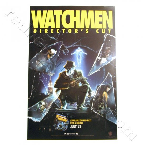 """Watchmen (2009) Promo Movie Poster for Director's Cut DVD release 11""""x17"""" NEW"""