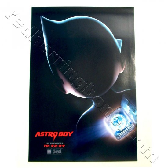 "Astro Boy (2009) Promo Movie Teaser Poster (Kristen Bell, Nicolas Cage) 11""x17"" NEW"