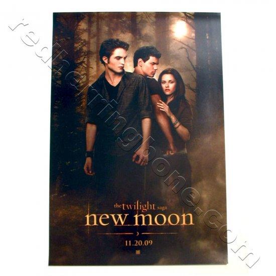 "The Twilight Saga: New Moon (2009) Promo Movie Teaser Poster (Robert Pattinson) 11""x17"" NEW"