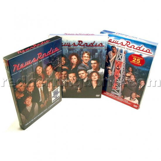 NewsRadio - Complete Seasons 1-2, 3, and 4 DVDs (1st 2nd 3rd 4th One Two Three Four) NEW