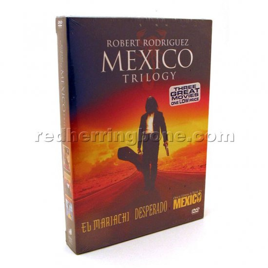 Robert Rodriguez Mexico Trilogy (El Mariachi, Desperado, Once Upon A Time In Mexico) NEW