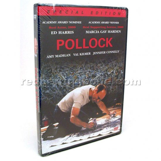 Pollock Special Edition Widescreen DVD (Ed Harris, Marcia Gay Harden) NEW