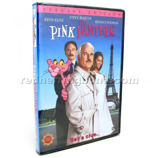 The Pink Panther (2006) Special Edition WS DVD (Steve Martin, Kevin Kline, Beyonce Knowles) NEW