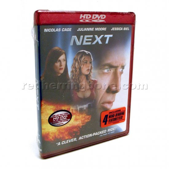 Next HD DVD (Nicolas Cage, Julianne Moore, Jessica Biel) NEW