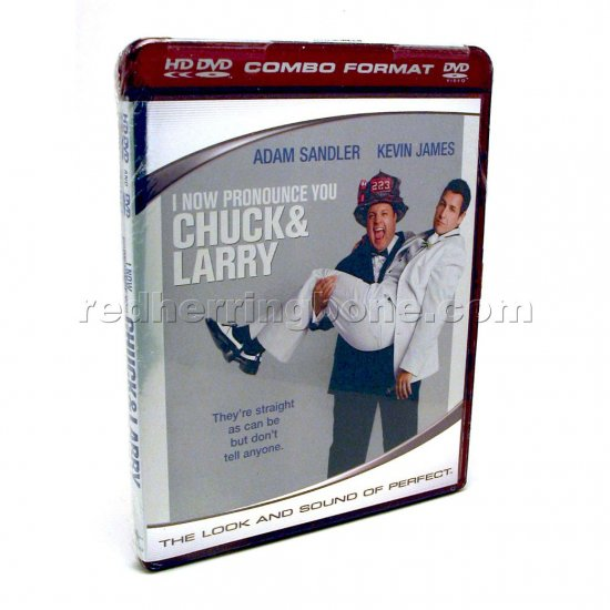 I Now Pronounce You Chuck & Larry HD DVD & DVD Combo (Adam Sandler, Jessica Biel) NEW