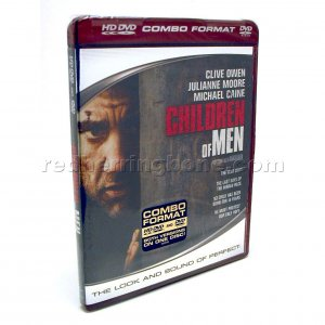 Children Of Men HD DVD &amp; DVD Combo (Clive Owen, Julianne Moore) NEW