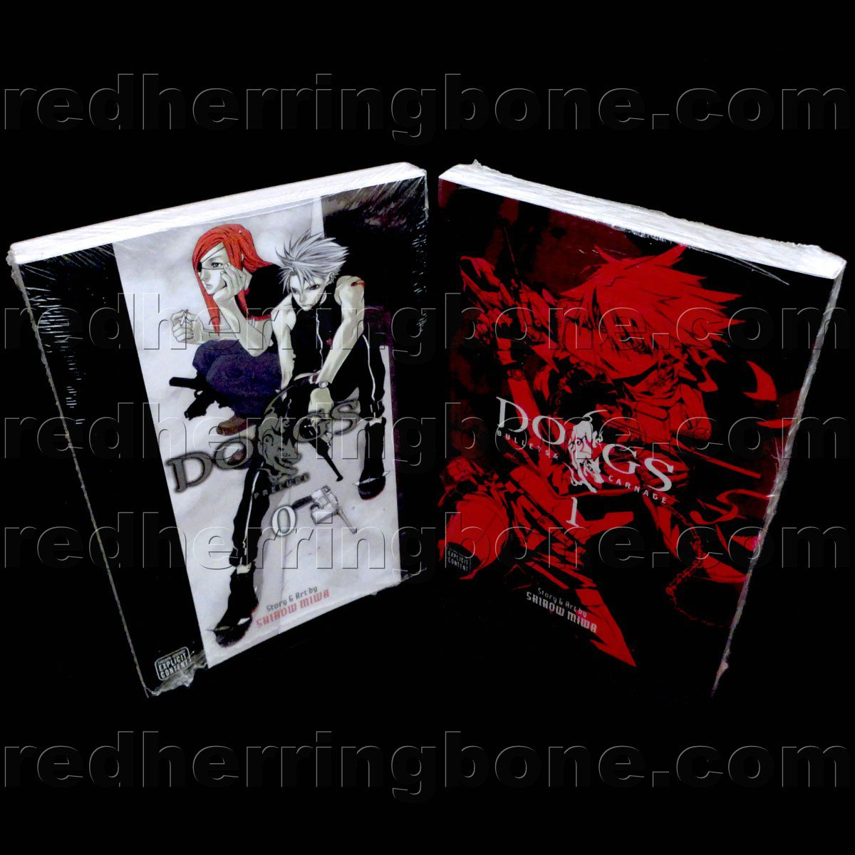 Dogs: Prelude, Vol. 0 and Dogs: Bullets & Carnage, Vol. 1 (set includes Volume 0 & 1) NEW