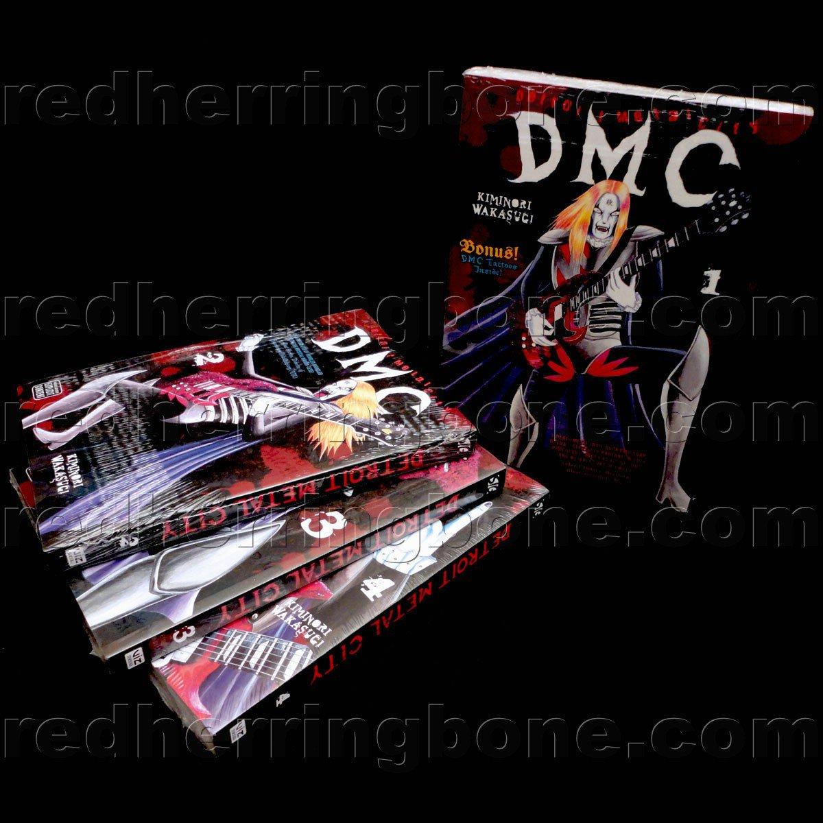 Detroit Metal City, Vol. 1-4 Manga (set includes 4 volumes) Kiminori Wakasugi NEW