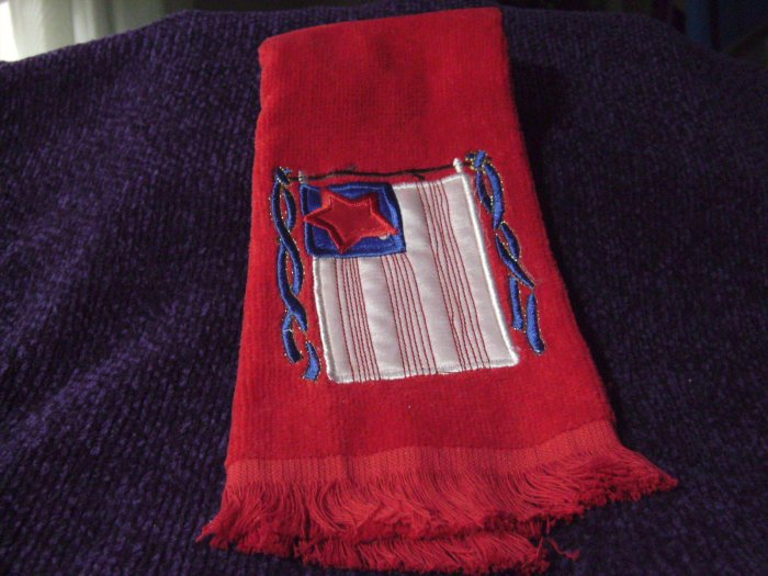 Red Americana Hand/Dish Towel