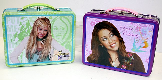 Hannah Montana Lunch Box
