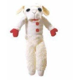 "Aurora 14"" Talking Lamb Chop Hand Puppet"
