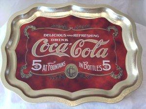 Coke Coca~Cola Tray  NEW