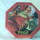 Coke And Santa Tin  NEW