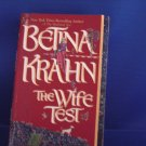 The Wife Test - Betina Krahn - Paperback