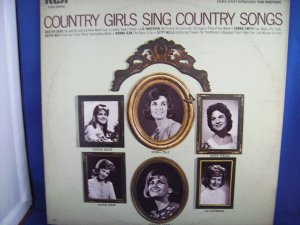 Country Girls Sing Country Songs