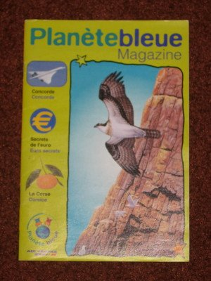 Air France Souvenir Planete Bleue French Collectible Magazine Booklet Editorial 8