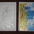 American Greetings Graduation Cards Set of 2 Different Card Designs with Envelopes