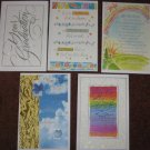 American Greetings Graduation Cards Lot of 5 Five Different Card Designs with Envelopes
