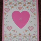 Valentines Day Heart Photo Frame Card with Pink Envelope by Current