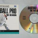 Front Page Sports Baseball Pro 96 Season (PC Games, 1996)