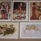 Christmas Note Cards Holiday Memories Collection Hope School Set of 5
