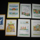 CHRISTMAS CARDS Set of 7 St. Bonaventure Indian Mission & School
