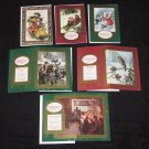Tis the Season CHRISTMAS CARDS Set of 6 Alzheimer's Association