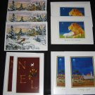 Christmas Cards Cal Farley's Boys Ranch Girlstown USA Lot of 9