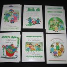 Hope School Foundation CHRISTMAS CARDS Set of 8 with Envelopes Georgia Rettmer Kimberly Rinehart