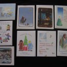 Christian Appalachian Project CHRISTMAS CARDS Set of 9 with Envelopes