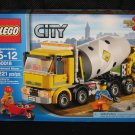 Lego City CEMENT MIXER 60018 Building Toy Brand New Sealed in the Box