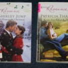Lot of 2 Harlequin Romance Books Princess for Christmas 4127 Brady the Rebel Rancher 4081