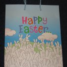 Happy Easter Gift Bag with Bunnies Rabbits
