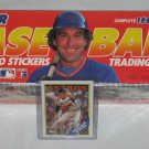 Sealed 1989 Fleer Baseball Trading Cards Stickers Complete Set + Bonus Nolan Ryan Card