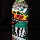 Mountain Dew Nascar Sam Bass Martinsville Green Label Art Aluminum Bottle NEW Full Unopened